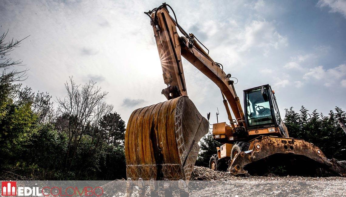 Impresa di costruzione colombo scavatore
